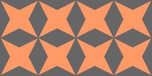 Star pattern for Dayag tribe