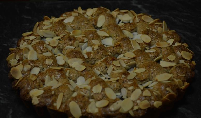 Cranberry Hazelnut Tart